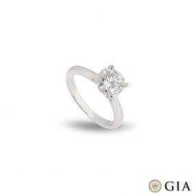 Platinum Round Brilliant Cut Diamond Ring 1.70ct I/VS2 XXX